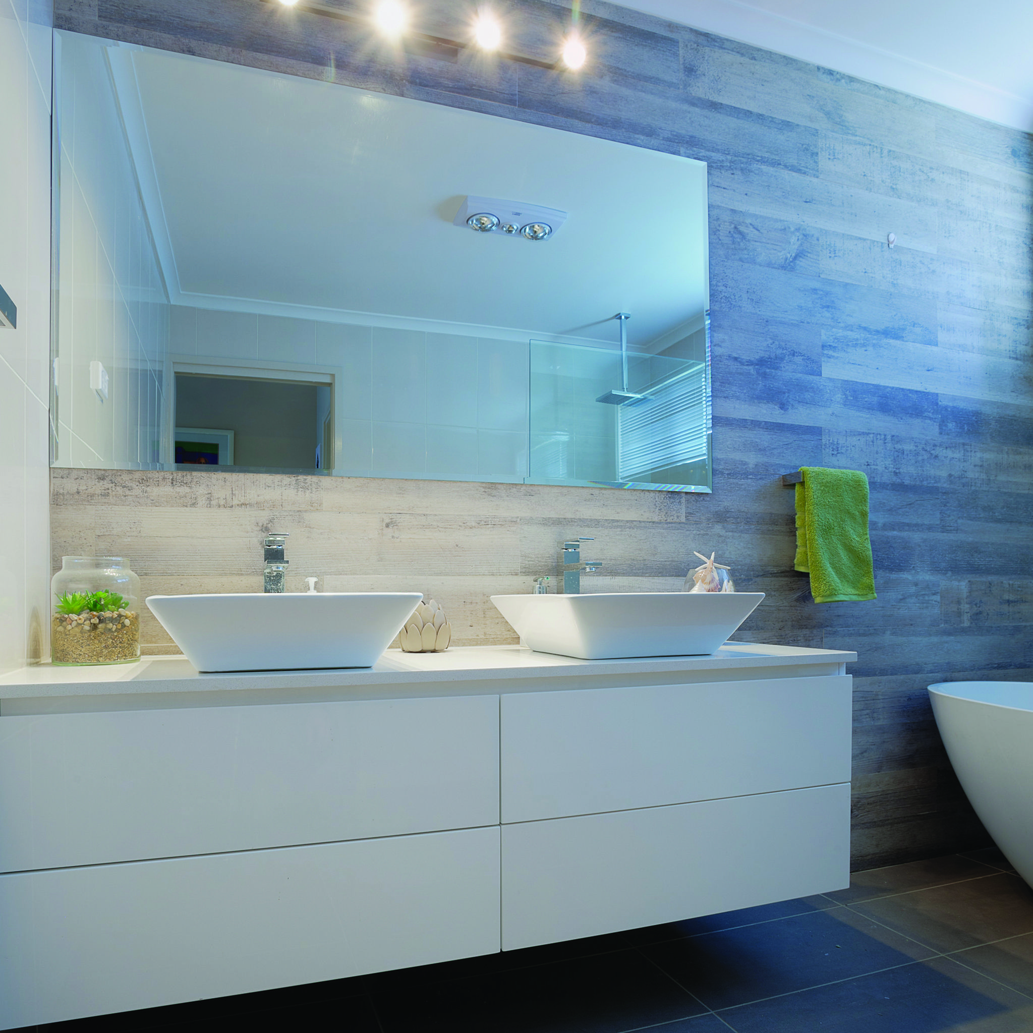 Wood look tile are getting more and more sophisticated, giving you ...