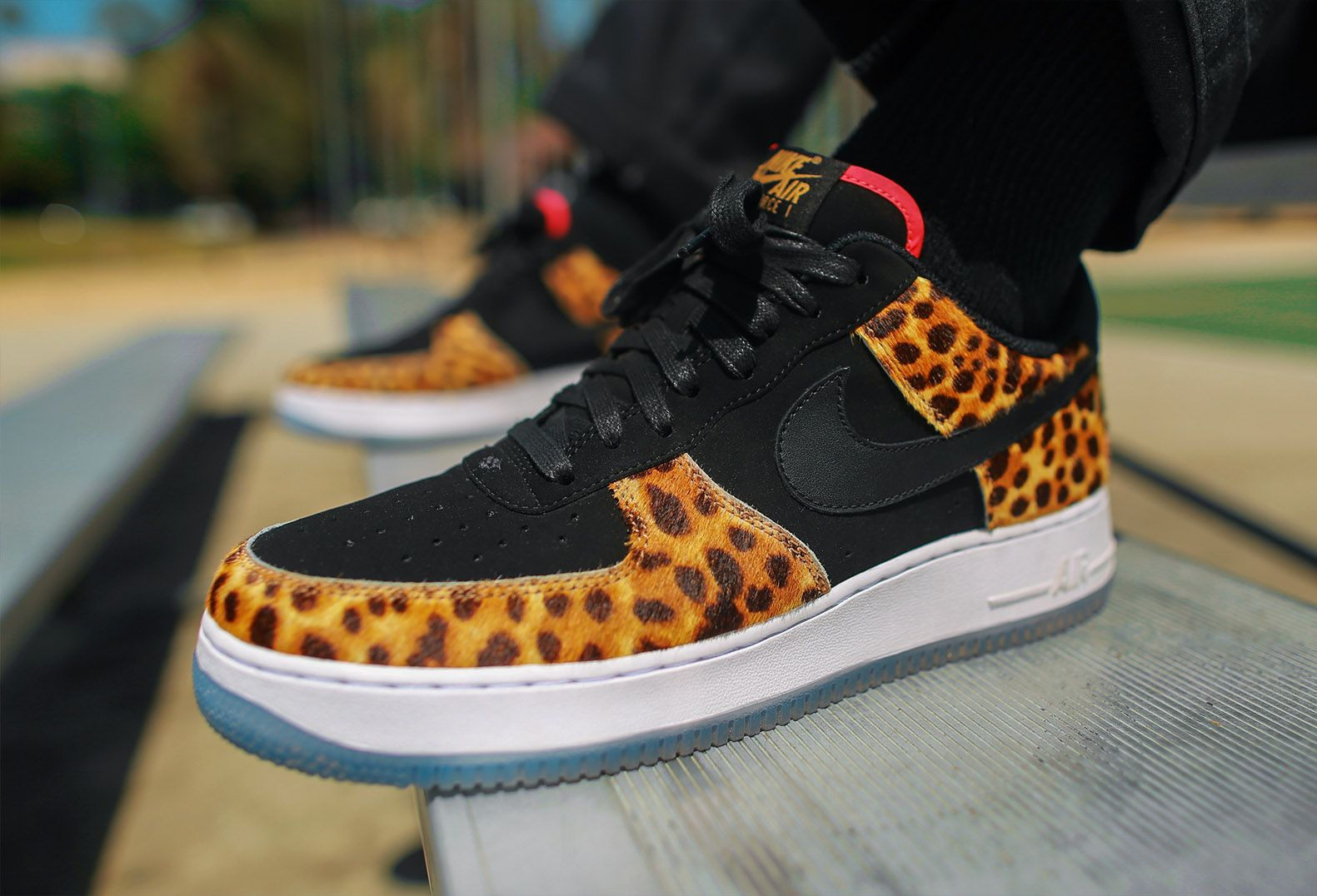 NIKE AIR FORCE 1 07 LHM SANER MASTER JAGUAR LEOPARD AH7738