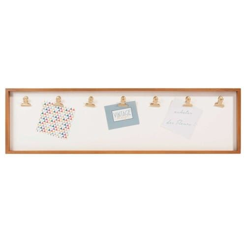 VINTAGE MARKET 7-clip photo frame 20 x 72 cm