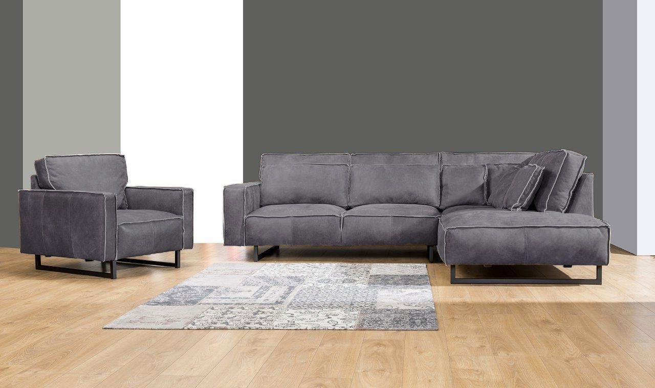 Robustes Lounge Ecksofa Monolithos Aus Der Mokana Lederkollektion Ecksofa Coole Sofas Und Sofa