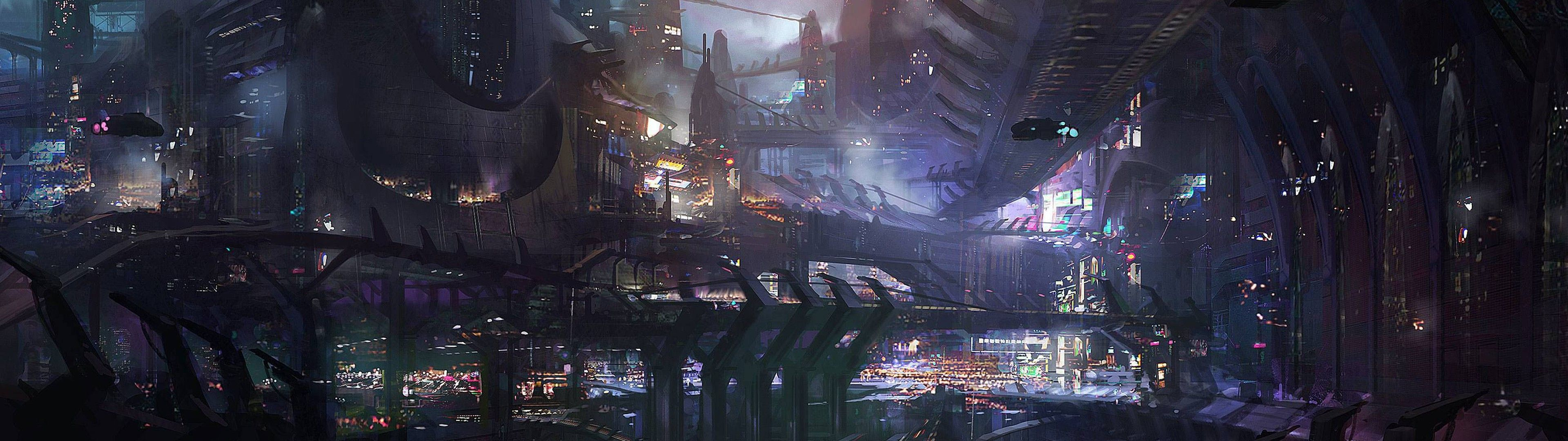 Forever City (With images) Sci fi wallpaper, Futuristic