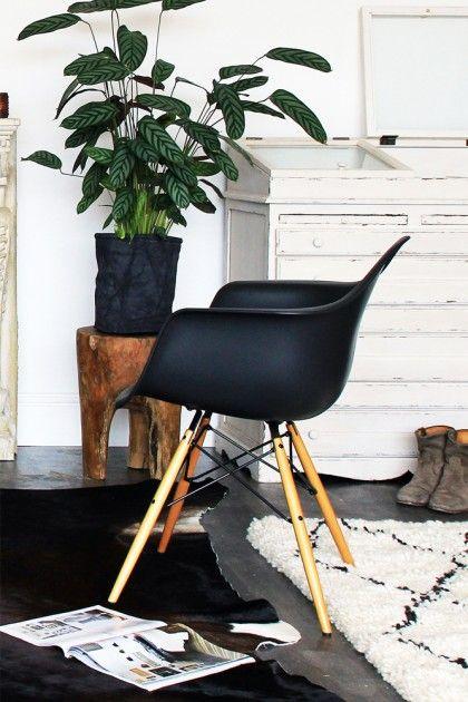 charles ray eames plastic armchair maple wooden leg base daw designed in 1950 vitra - Fantastisch Tolles Dekoration Charles Eames Schaukelstuhl