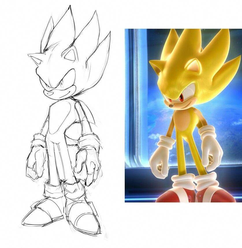Super Sonic Videogametester Sonic Para Colorear Dibujos Sonic The Hedgehog