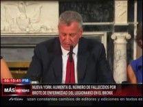 Nueva York: Aumenta El Número De Fallecidos Por Brote De Enfermedad Del Legionario En El Bronx #Video