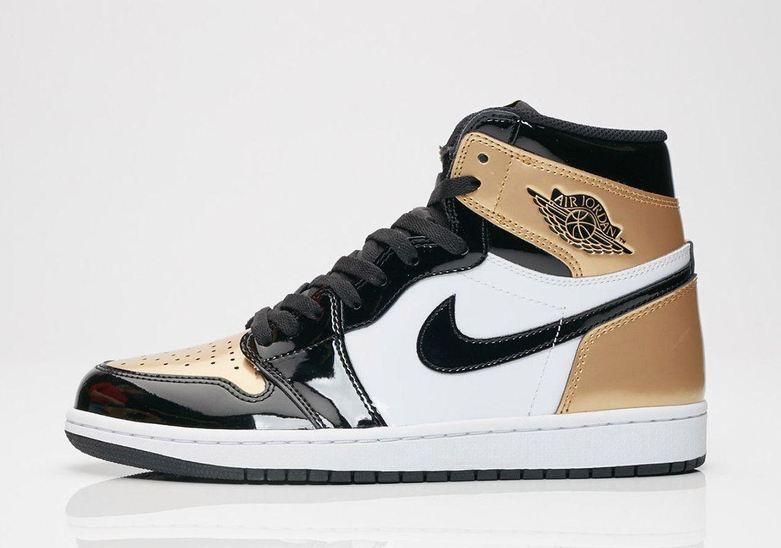 The Air Jordan 1 Retro High Og Nrg Gold Toe Is Arriving At