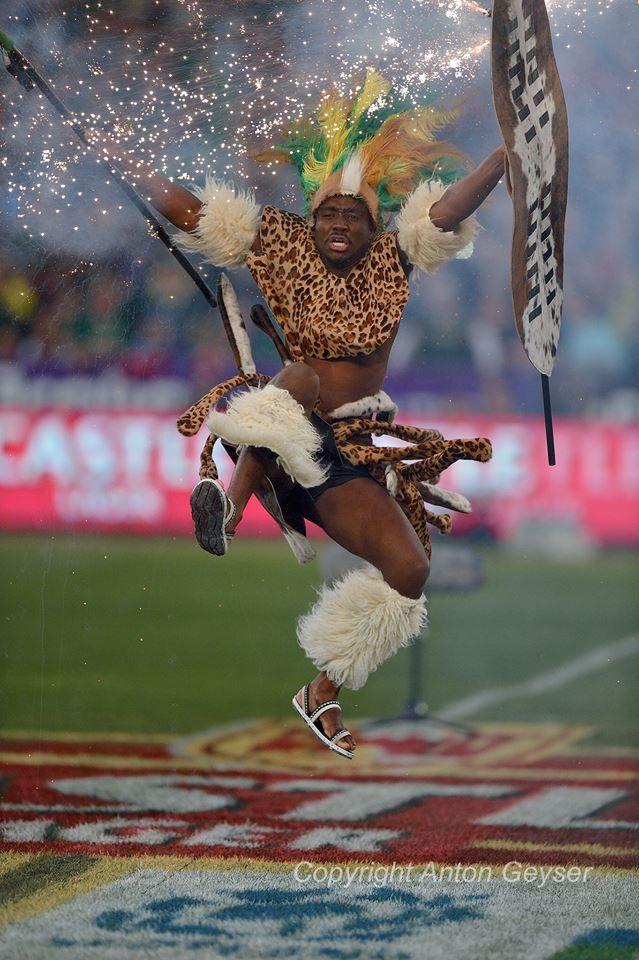Zulu Dance Before Springboks Game Zulu Dance Zulu African