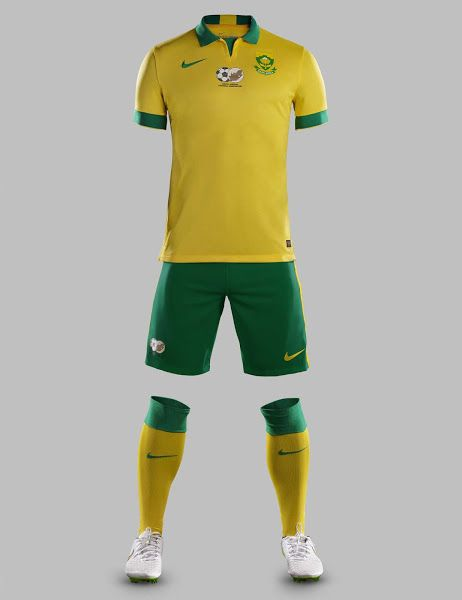 New Nike South Africa 2015 Kits Released Football Team Kits Sports Shirts National Football Teams