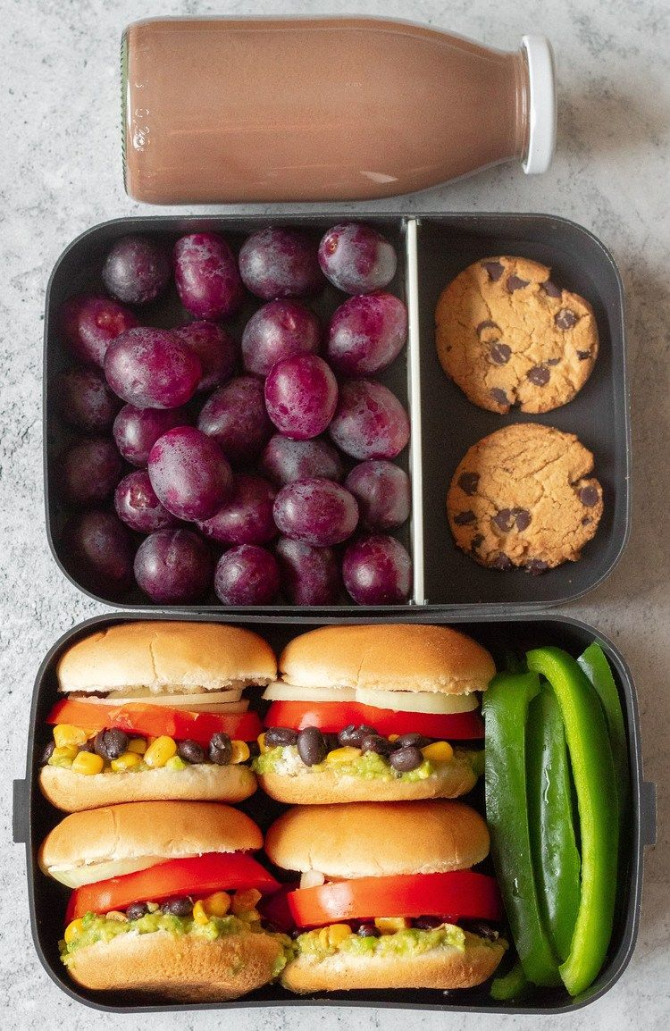 5 Easy Vegan Lunch Box Ideas for Work (Adult Bento) images