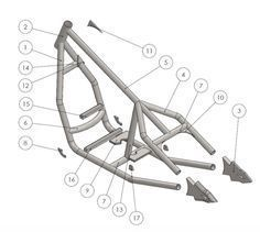 Our rigid bobber frame assembly guide which shows how to