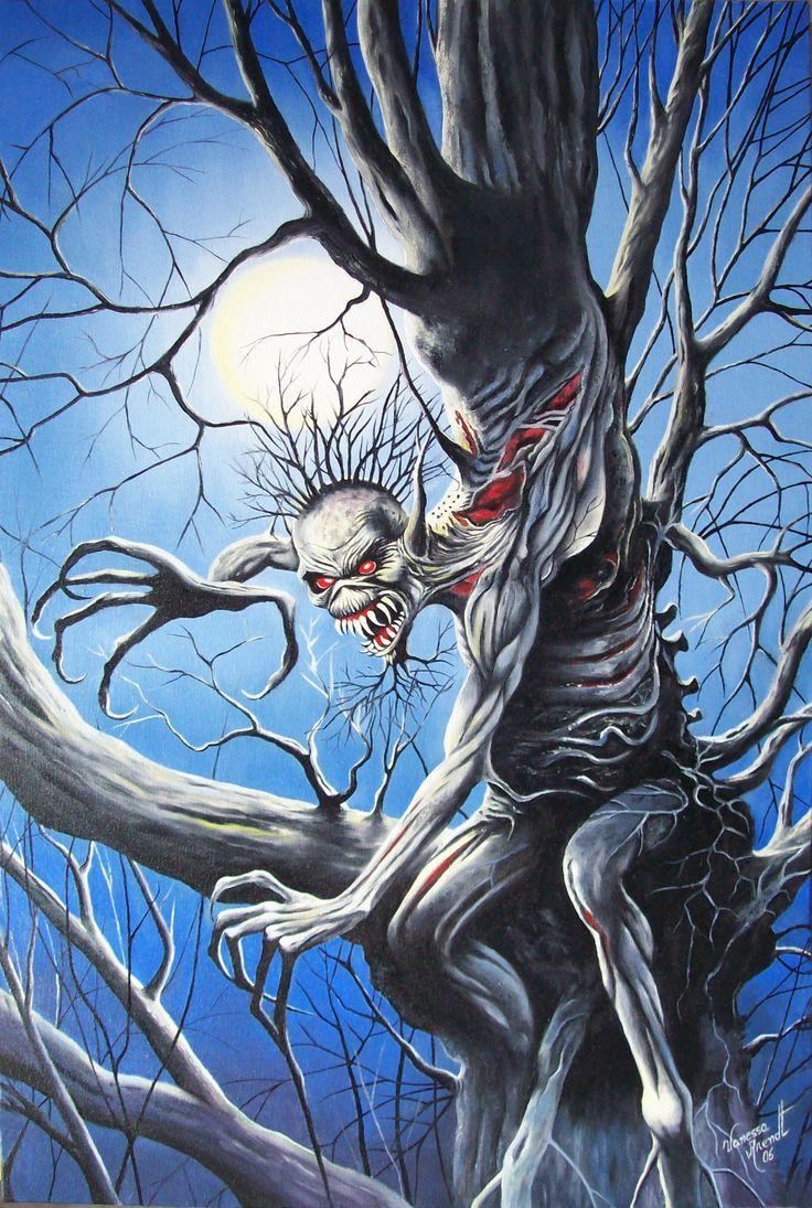 Iron Maiden Fear Of The Dark artwork … em 2019 Imagens