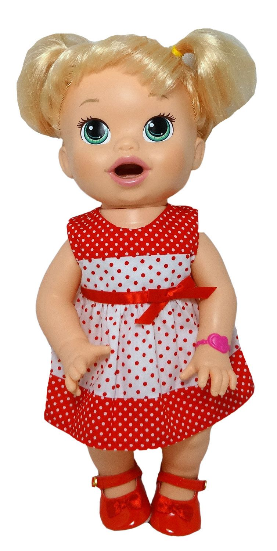 Christmas Dress (s) Girl dolls, Baby alive dolls, My