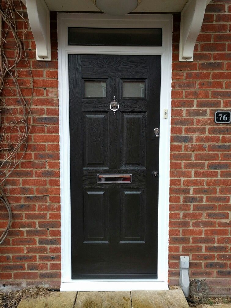 Ultimate rockdoor fitted no handles sleek look upvc for Upvc front doors fitted
