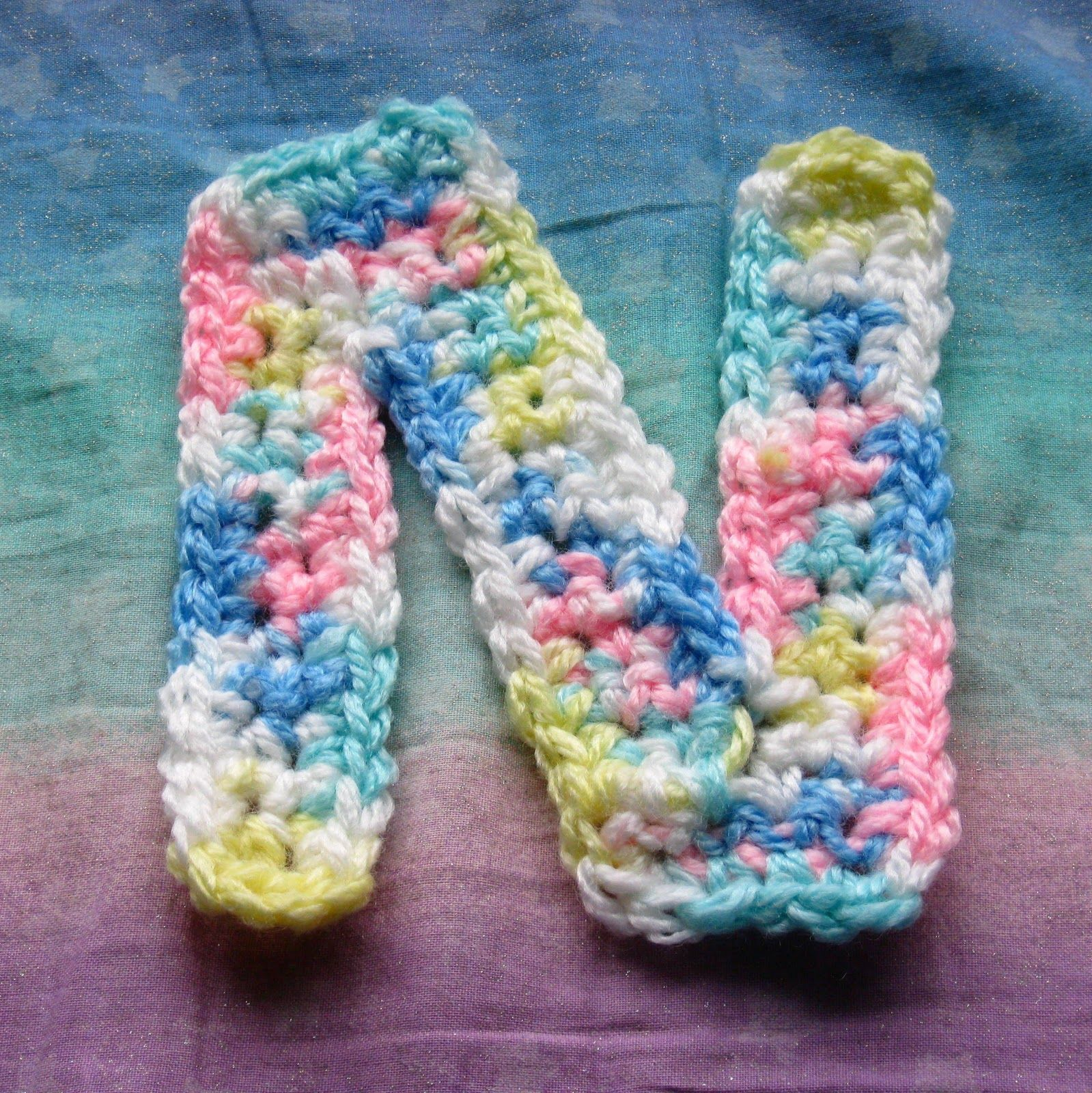Need this crochet letter n for my nebraska hat free pattern need this crochet letter n for my nebraska hat free pattern thecheapjerseys Choice Image