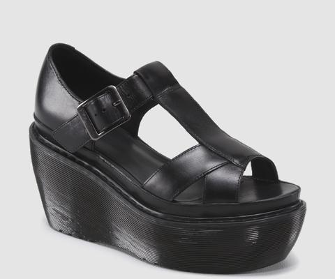 doc martens ADAYA sandal $130.00 Cross Strap Sandal Black