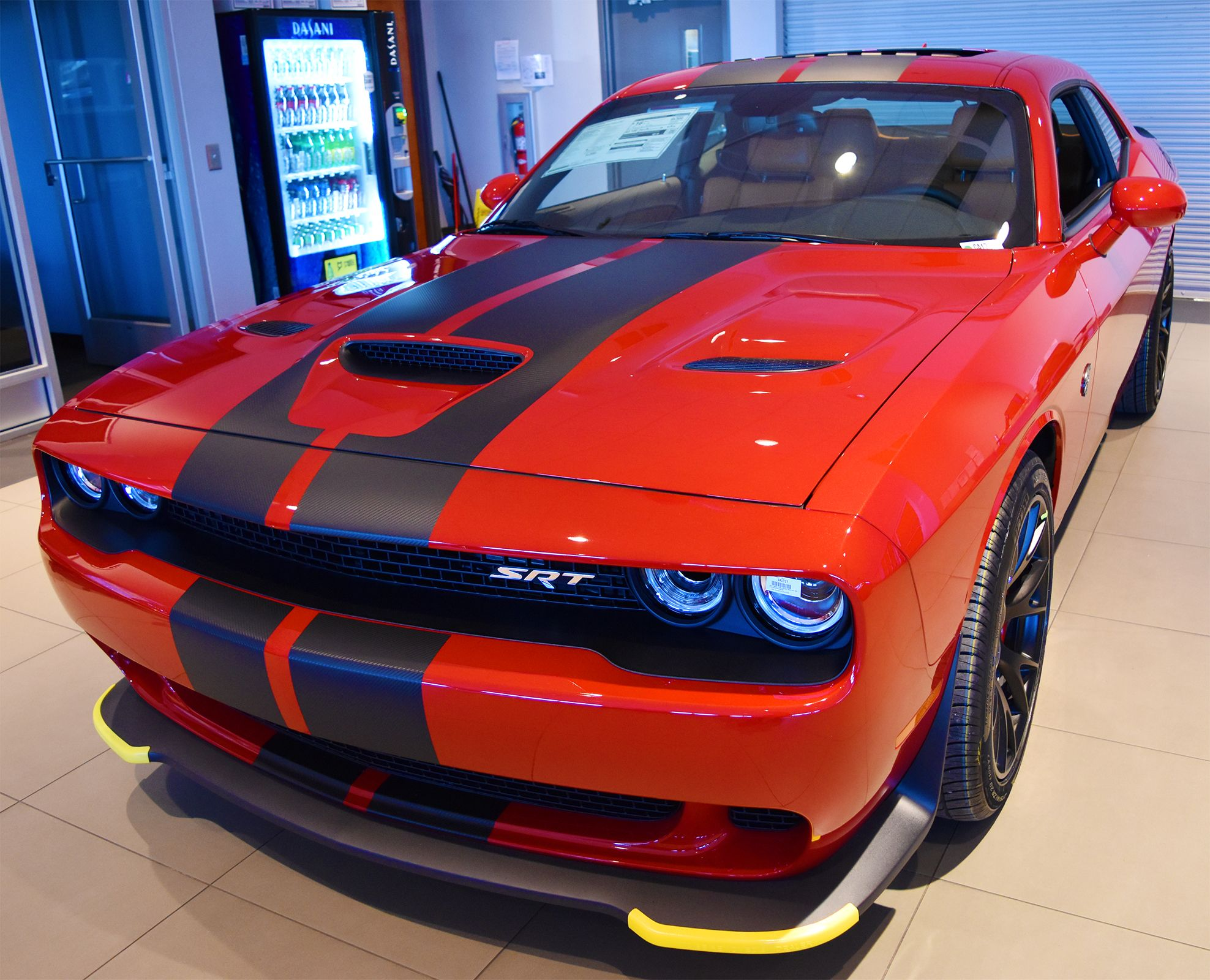 Automatic moonroof 707 horsepower this 2016 dodge challenger hellcat is practically purrfect