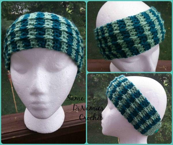 Cascading Cables Headband Free Crochet Pattern | Chal de ganchillo ...