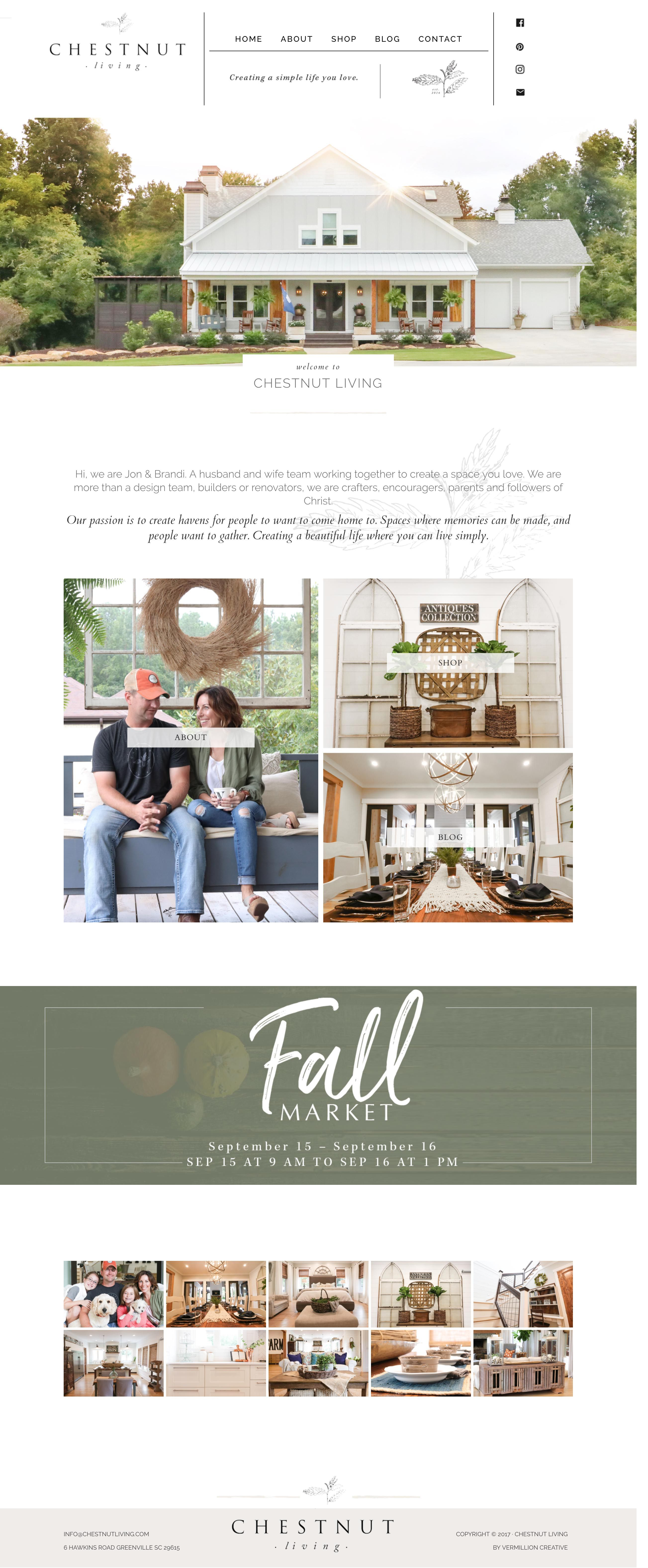 Marvelous Interior Design Website Chestnut Living Fixer Upper Style Farmhouse  Craftsman Builder Designer