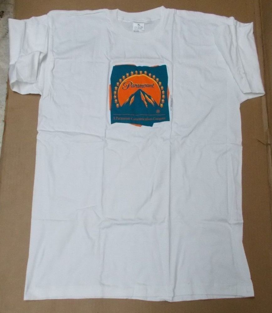 ad545d9fbdeb (ebay link) PARAMOUNT T-SHIRT SHORT SLEEVE NEW XL NEVER WORN COMMUNICATIONS  COMPANY #fashion #clothing #shoes #accessories #mensclothing #shirts