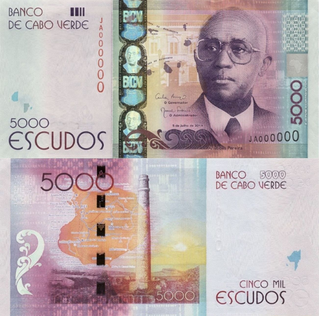 Cabo Verde Escudos