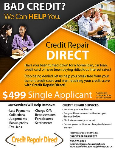 Credit Repair Marketing Flyers Credit Repair Secrets Exposed