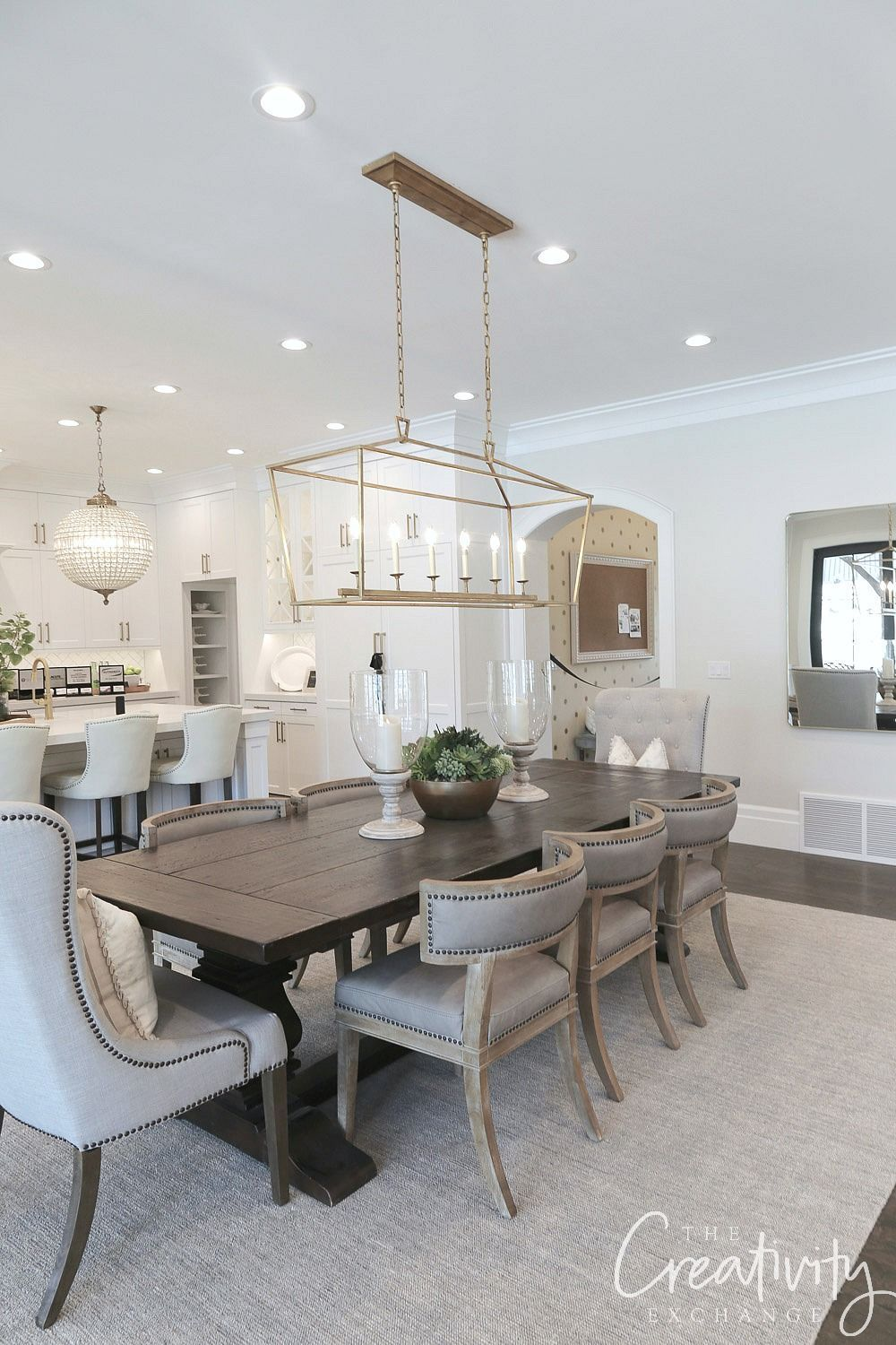 2018 Utah Valley Parade of Homes Recap Dining room table