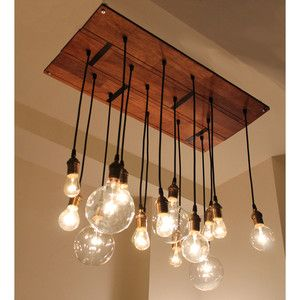 Chandelier.  easy to make