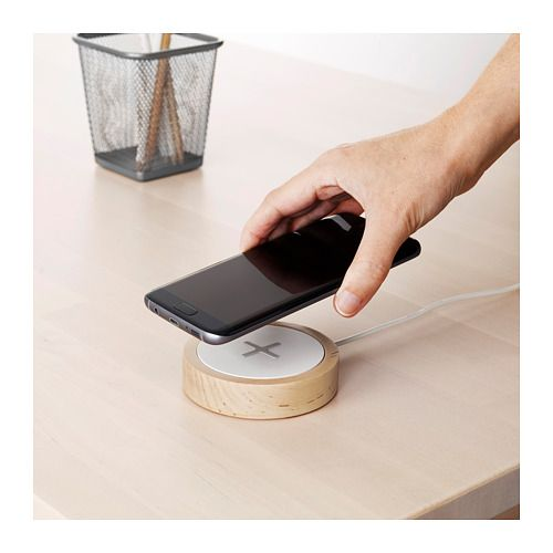 Nordm 196 Rke Wireless Charger Ikea For The Home Smart