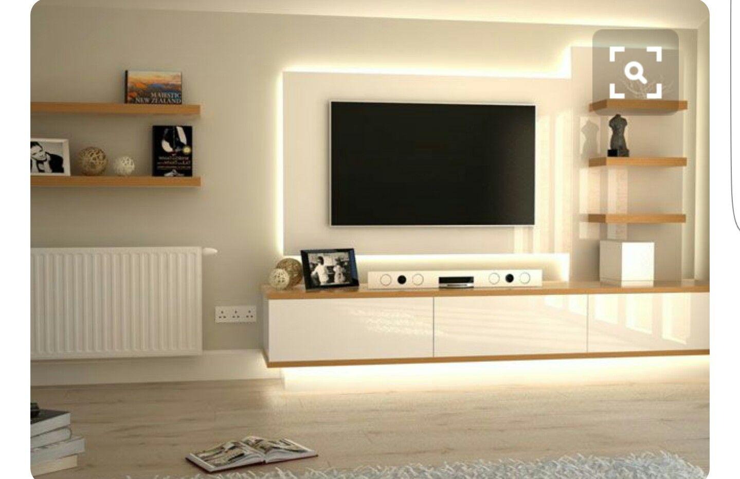 Pin By زوبعة في فنجان On Tv Stand Home Modern Tv Units Tv Unit