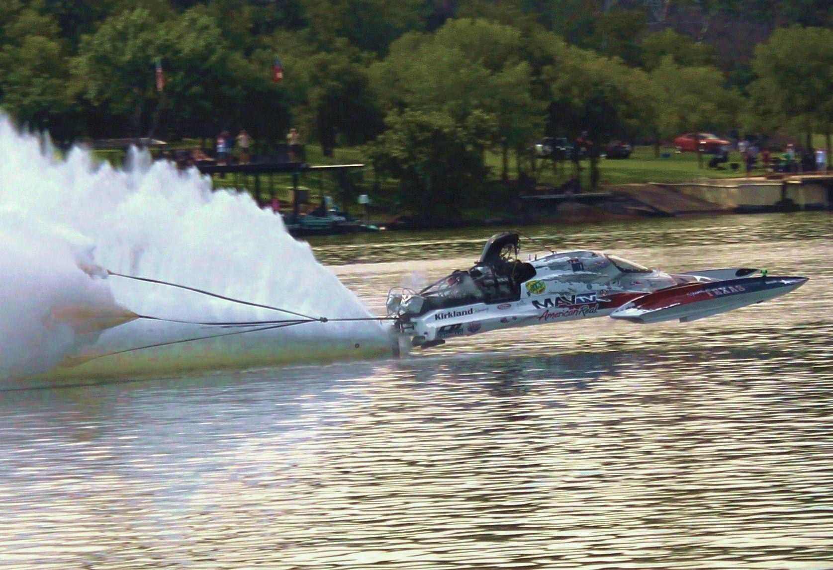 Sot Marble Falls 2013 Chute Came Out Early Drag Boat Racing Boat Girl Boat Race