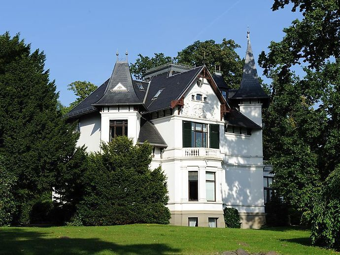 Villa an der Elbchaussee in Nienstedten
