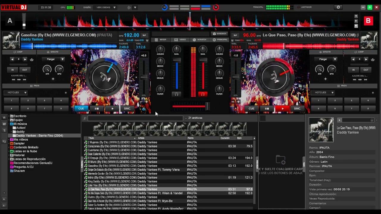 Skin Virtual DJ 8 NUEVO! 2017 - TorreMusic Skin HD | Virtual