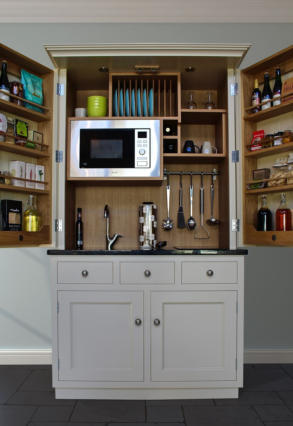 Introducing The Fearnley Mayfair, The Latest Addition To The Culshaw  Kitchenette Range. At Just Over 1.1m, It Provides Full Kitchen  Functionality In A Very ...