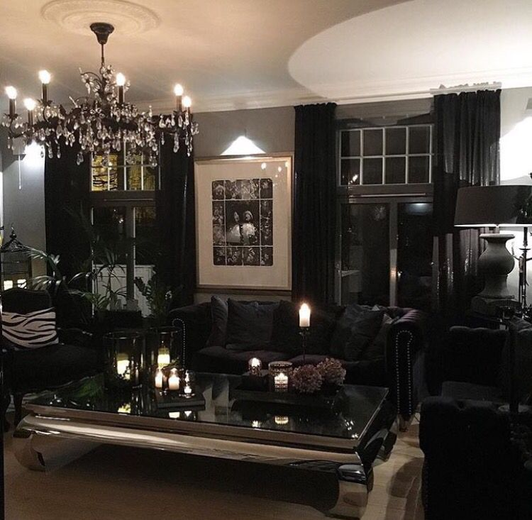 Gothic Living Rooms