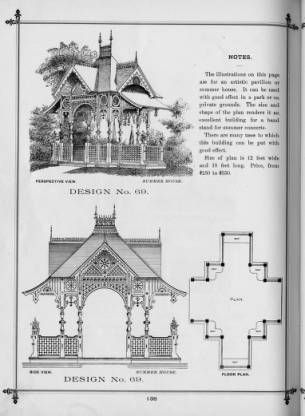 Cottage Souvenir #2 , 1891 :: George F. Barber Collection ... on 19th century mansion house plans, 18 century victorian house plans, 1890 house plans, simple small house floor plans, queen anne victorian house plans, 1952 house plans,