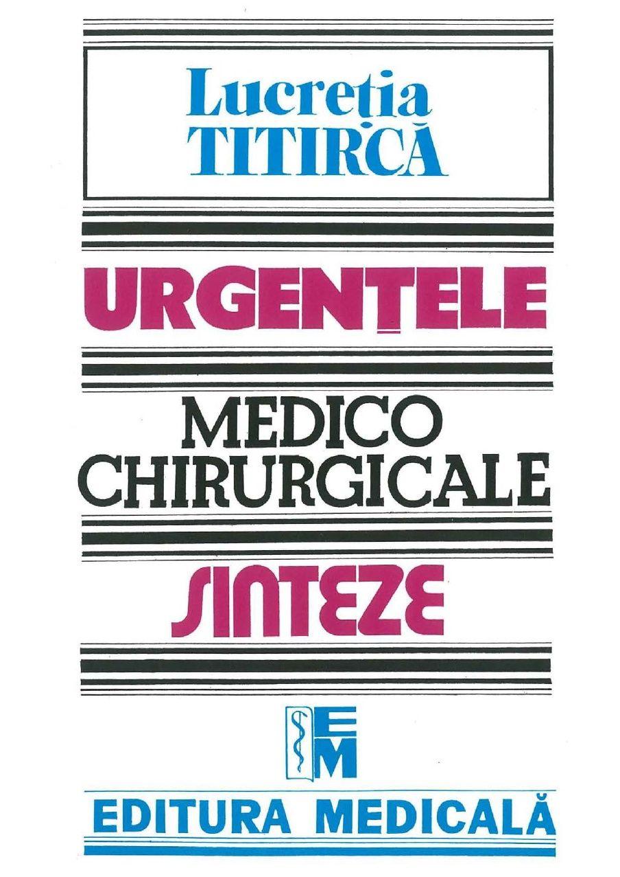 urgente medico chirurgicale sinteze