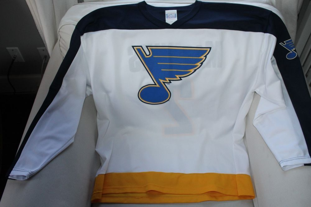 cheap for discount 21d57 8c303 VINTAGE Al MacInnis Authentic St.Louis Blues Jersey SIZE 2X ...