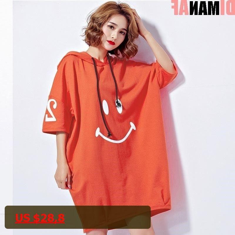 DIMANAF 2017 Women Summer Hoodies Plus Size