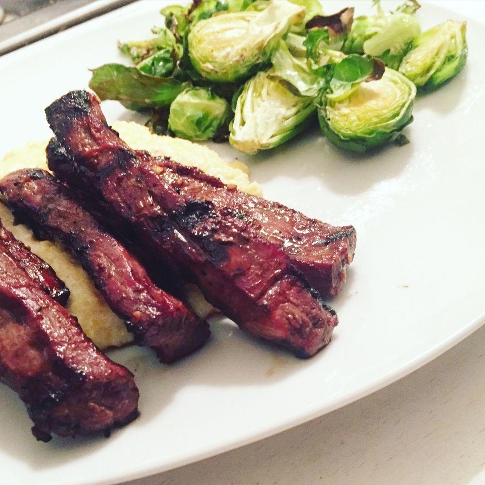 Soy n' Sesame Flank Steak Asian flank steak, Flank steak