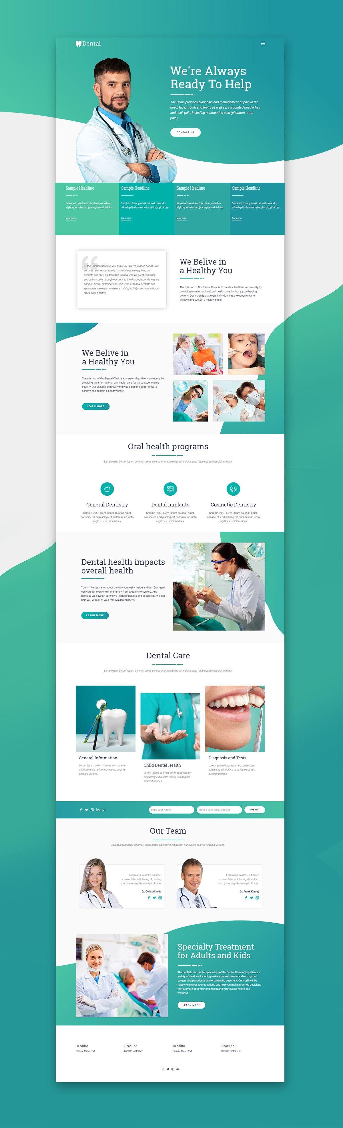 Medicine Web Template Click And Start Edit This Web Template Wordpress Theme And Joomla Template Nicepag Medical Website Design Web Design Tips Web Design