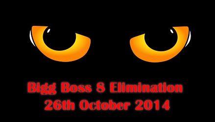 Bigg Boss 8 Elimination 26th October 2014 http://tv-duniya.blogspot.com/2014/10/bigg-boss-8-elimination-26th-october-2014.html