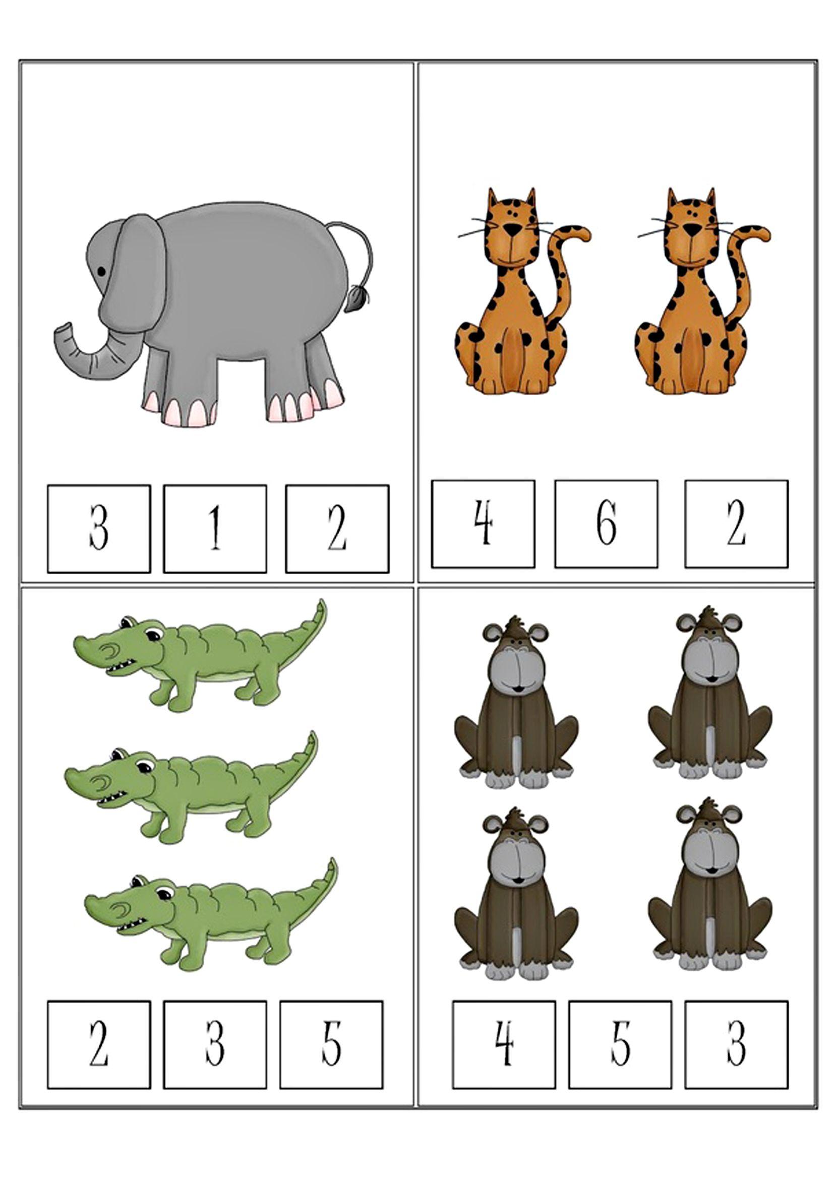 Math Worksheet Africa Animals Skola Div Pinterest Math