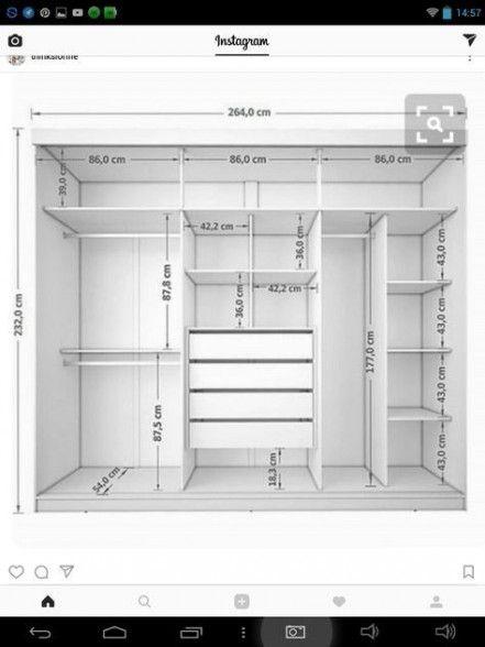 Super Bedroom Wardrobe Sliding Doors Walk In 56+ Ideas