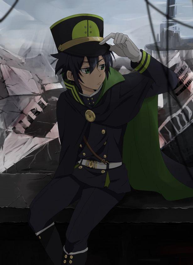 Картинки из аниме последний серафим юичиро хакуя