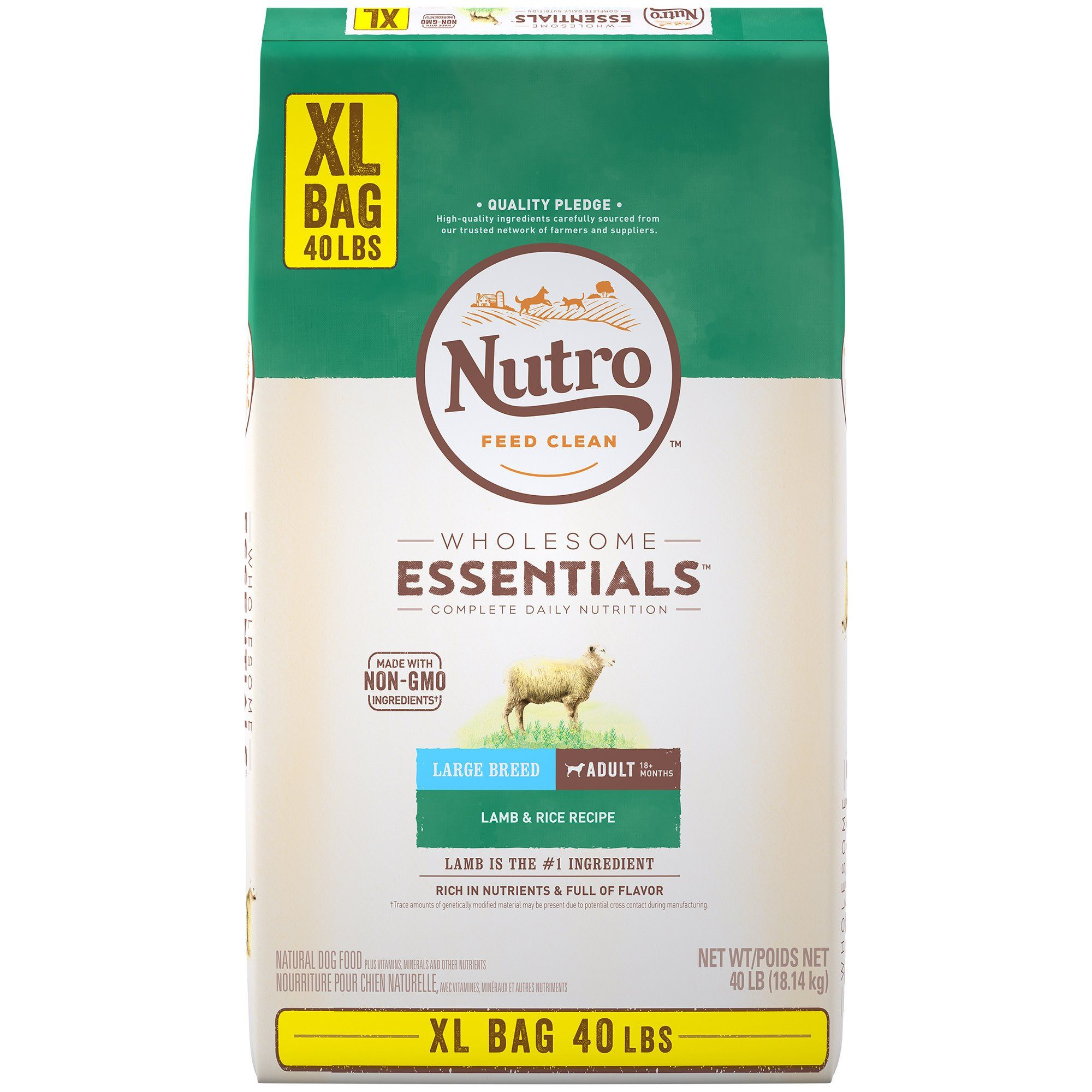 Nutro Wholesome Essentials Large Breed Natural Lamb Rice Recipe