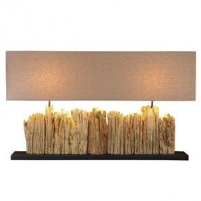 Grande Vertico Riverine Driftwood Lamp