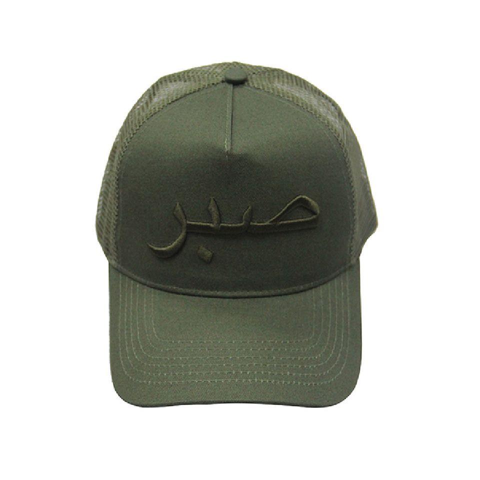 988e03394e0 China manufacturer olive 5 panel trucker mesh cap 3d embroidery logo mesh  back caps hats