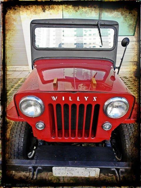 Jeep Willys Cj3b 1954 Cara De Cavalo Carros E Caminhoes Jeep