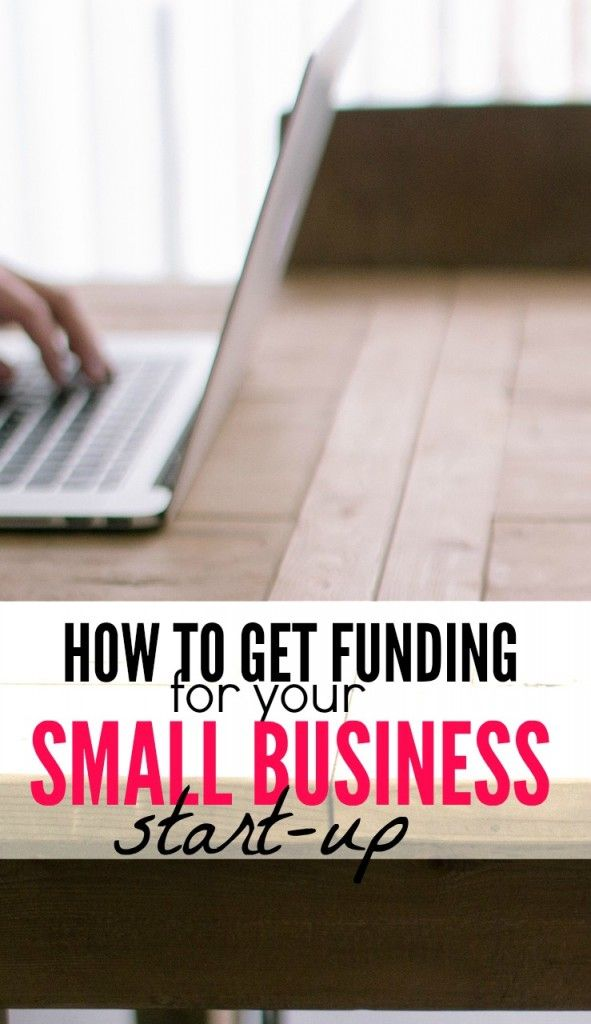 How to Fund Your Small Business Start-Up | Blogging Pins