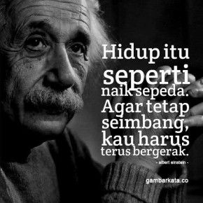 Gambar Kata Kata Bijak Albert Einstein Einstein Kutipan
