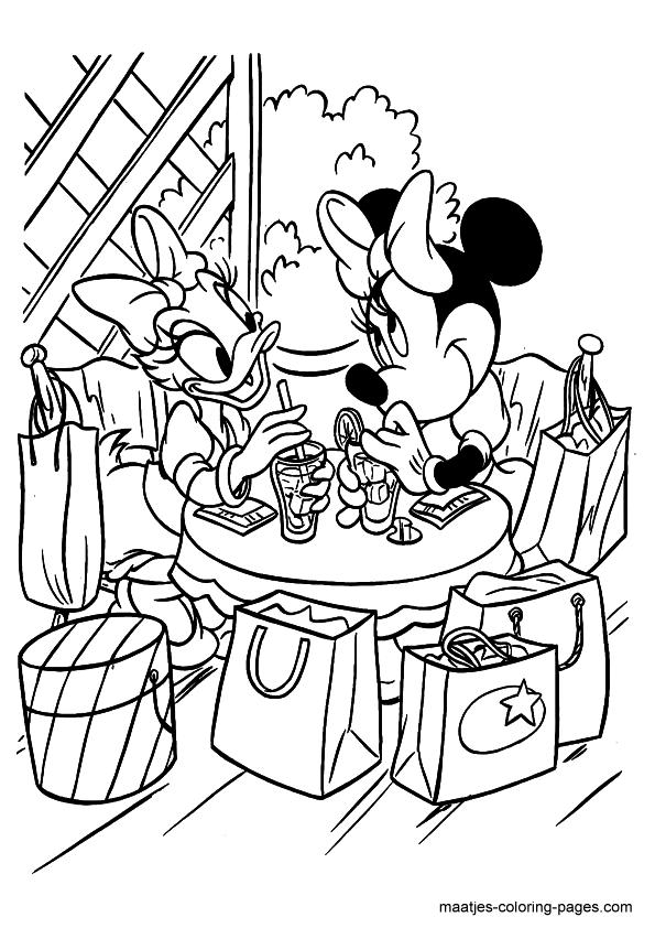 Daisy & Minnie shopping | Minnie Mouse/Daisy Duck/Doc McStuffins ...